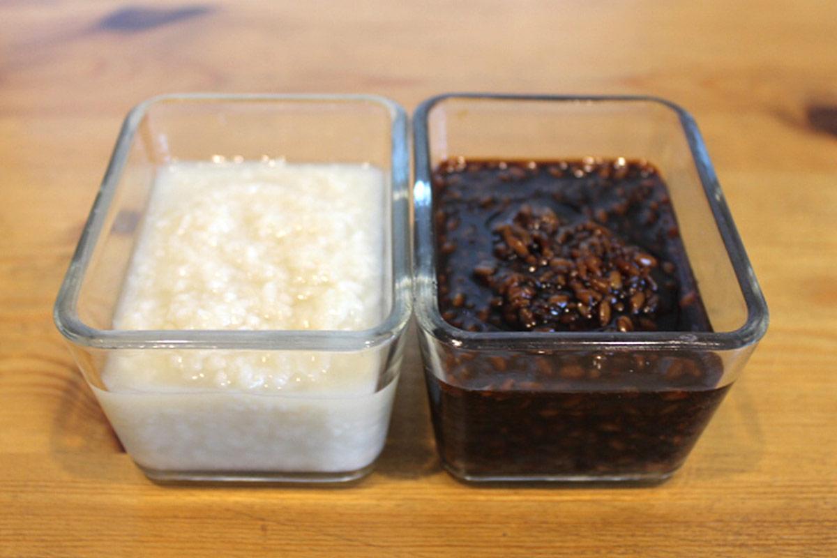 塩麹、醤油麹作り