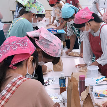 手作り味噌講習会を開催